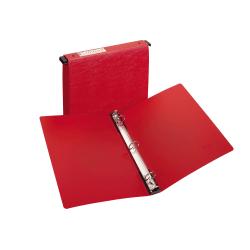 """Avery® Hanging Storage 3-Ring Binder, 1"""" Round Rings, Red"""