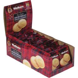 Walker's Cookies Shortbread Highlanders Cookies, Box Of 18