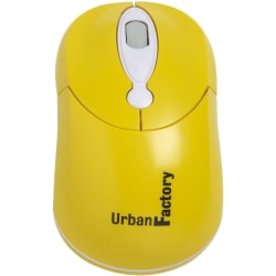 Urban Factory  USB Crazy Mouse, Yellow, CM09UF