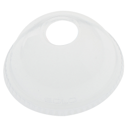 Dart® Ultra Clear™ Dome Cold Cup Lids, For 16 - 24 Oz Cups, Clear, Pack Of 1,000 Lids