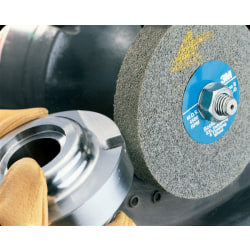 "3M™ Scotch-Brite™ EXL Deburring Wheel, 8""H x 2""W x 3""D, Medium, Gray"