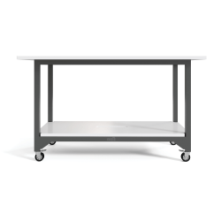 VARIDESK QuickPro Standing Conference Table, White
