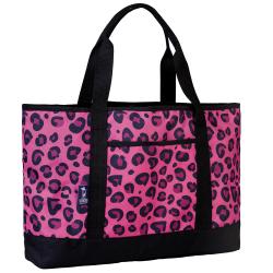 Wildkin Tote-All Bag, Pink Leopard