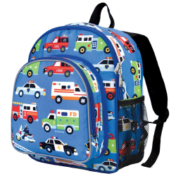 Wildkin Pack 'N Snack Laptop Backpack, Olive Kids Heroes