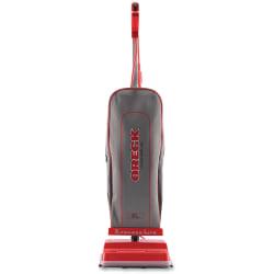 "Oreck U2000RB-1 Commercial Vacuum - Bagged - Brush - 12"" Cleaning Width - Carpet, Wooden Floor, Laminate Floor, Tile Floor, Hard Floor - 40 ft Cable Length - Red, Silver"