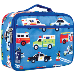 Wildkin Polyester Lunch Box, Heroes By Olive Kids