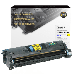 Clover Imaging Group™ Q3962A Remanufactured High-Yield Yellow Toner Cartridge Replacement For HP 121A