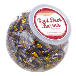 Cyber Sweetz Old-Fashioned Root Beer Barrel Hard Candies, 2.5 Lb