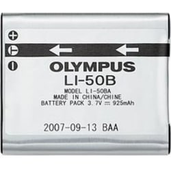 Olympus LI-50B Rechargeable Lithium-Ion Battery - For Camera - Battery Rechargeable - 3.7 V DC - 925 mAh - Lithium Ion (Li-Ion)