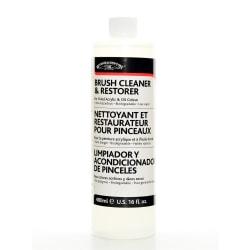 Winsor & Newton Brush Cleaner And Restorer, 474 mL