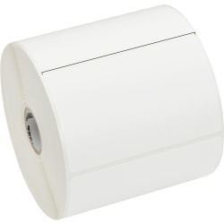 "Zebra Label Paper, U82579, 4"" x 2 1/2"" Direct Thermal Zebra Z™Select 4000D, 1"" Core"