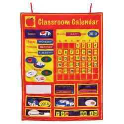 "Get Ready Kids Classroom Calendar Set, 36"" x 26"", Multicolor, Pre-K - Grade 8"