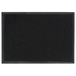 "M + A Matting Brush Hog Floor Mat, 24"" x 36"", Charcoal Brush"