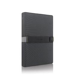 "Solo Storm Universal Fit Tablet/eReader Booklet, 8.5"" to 11"", Black"