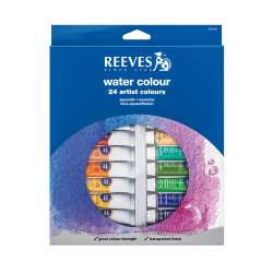 Reeves Watercolor Paints, Set Of 24