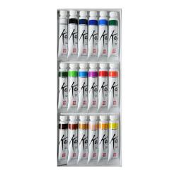 Sakura Koi Watercolors, 12 mL, Set Of 18