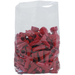 """Office Depot Brand 1 Mil Gusseted Poly Bags 8"""" x 3"""" x 15"""", Box of 1000"""