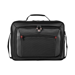 Wenger® Insight Single Gusset Laptop Case, Gray