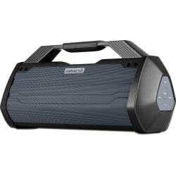 Volkano Genesis Portable Bluetooth® Speaker, Black, VK-3254-BK