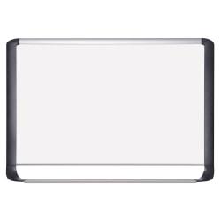 "MasterVision™ Porcelain Dry-Erase Board, 48"" x 96"""