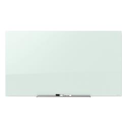 """Quartet® InvisaMount™ Magnetic Unframed Dry-Erase Whiteboard, 50"""" x 28"""", White"""