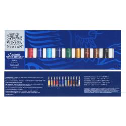 Winsor & Newton Cotman Introductory Watercolor Set, 0.27 Oz, Set Of 12