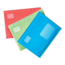 """Scotch® Cushioned Mailer, #2, 8 1/2"""" x 11"""", Assorted Colors"""