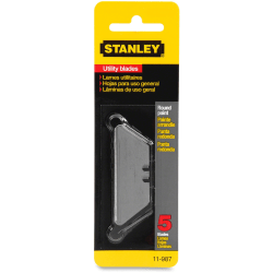 Stanley® Self-Retracting Utility Knife Refill Blades, Pack Of 5