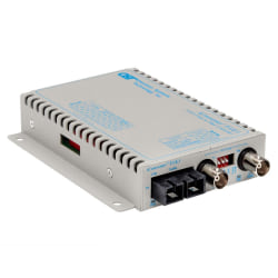 iConverter T3/E3 Fiber Media Converter Coaxial SC Multimode 5km Wide Temp - 1 x T3/E3/DS-3; 1 x SC Multimode; Wall-Mount Standalone; US AC Powered; Lifetime Warranty