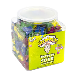 Warheads, Assorted Flavors, Tub Of 240
