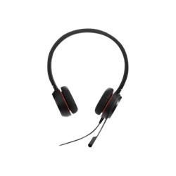 Jabra Evolve 30 II Headset - Stereo - Mini-phone (3.5mm) - Wired - Over-the-head - Binaural - Circumaural - 3.94 ft Cable - Noise Cancelling Microphone - Black