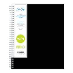 "Blue Sky™ Weekly/Monthly Appointment Book, 8-1/2"" x 11"", Barcelona, January to December 2021, 117911"