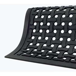 Comfort Flow Mat, 4' x 6', Black