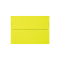 """LUX Invitation Envelopes With Peel & Press Closure, A7, 5 1/4"""" x 7 1/4"""", Citrus, Pack Of 500"""
