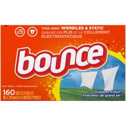 Bounce® Fabric Softener Sheets, Box Of 160 Sheets