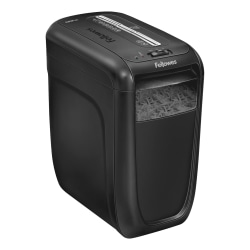 Fellowes® 60Cs 10-Sheet Cross-Cut Shredder