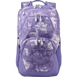 """High Sierra Swoop Backpack With 17"""" Laptop Pocket, Tie-Dye"""