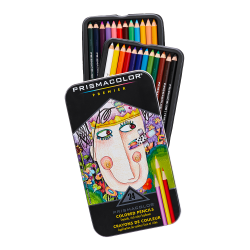 Prismacolor® Professional Thick Lead Art Pencils, Assorted Colors, Set Of 24 Pencils
