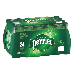 Perrier® Sparkling Natural Mineral Water, 16.9 Oz, Case of 24 Bottles