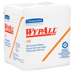 Kimberly-Clark Professional™ Wipers Wypall™ L40, 1/4 Fold, Pack Of 56