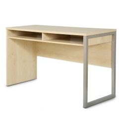 South Shore Interface Desk, Natural Maple