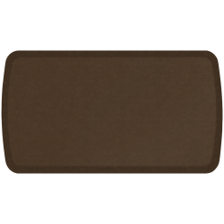 "GelPro Elite Vintage Leather Comfort Floor Mat, 20"" x 36"", Rustic Brown"