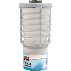 Rubbermaid Commercial TCell Odor Control Refill - Gel - 6000 ft³ - Splash Blue - 60 Day - 1 / Each