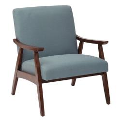 Ave Six Davis Chair, Klein Sea/Medium Espresso