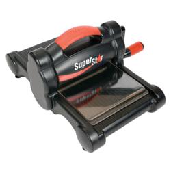 """Ellison SuperStar Die-Cut Machine, 14 1/4""""H x 12 3/8""""W x 6 5/8""""D, Black"""