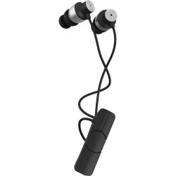 iFrogz Impulse Wireless Earbud Headphones, Black/Silver, IFIMPE-BS0