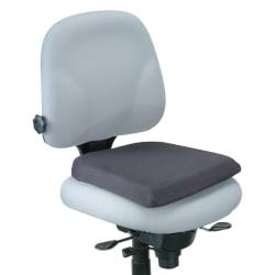 "Office Depot® Brand Memory Foam Seat Rest, 2""H x 16 1/8""W x 16 15/16""D, Black"