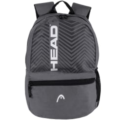 "HEAD Ace Backpack With 15"" Laptop Pocket, Gray"