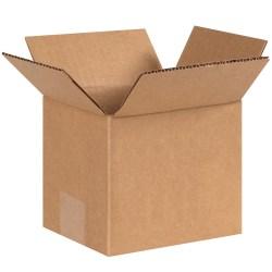 "Office Depot® Brand Corrugated Cartons, 6"" x 5"" x 5"", Kraft, Pack Of 25"