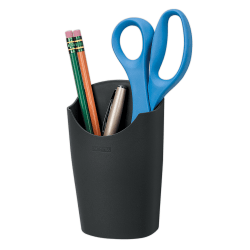 Fellowes® Partitions Additions™ 95% Recycled Pencil Cup, Dark Graphite